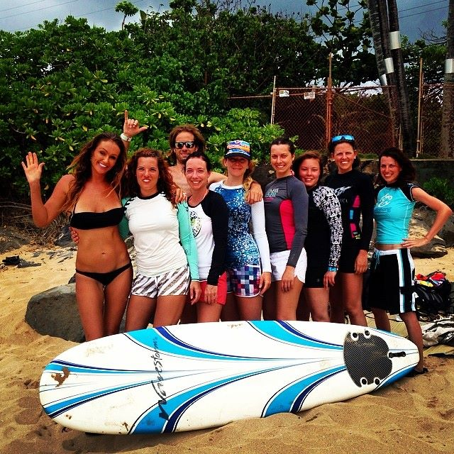 Best learn to surf camps
